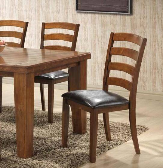 MYCO Furniture Adobe Brown Wood Rectangular Table Dining