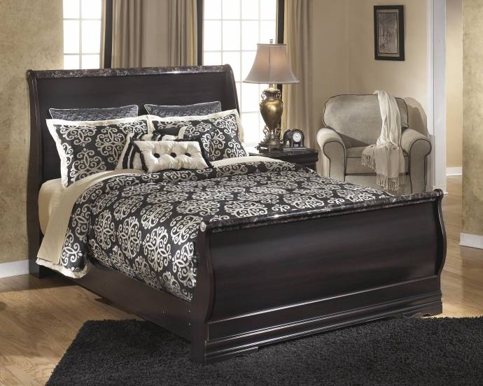 Ashley Esmarelda B179 Queen Size Sleigh Bedroom Set 6pcs