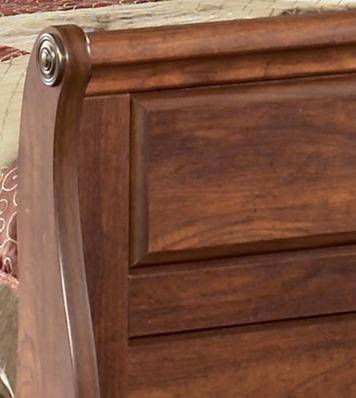 Ashley Timberline B258 Queen Size Sleigh Bedroom Set 3pcs In Warm Brown B258 57 54 96 92 2