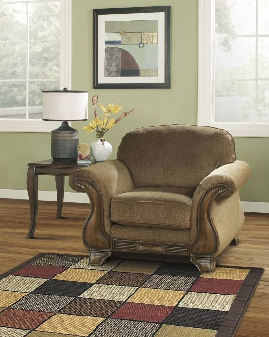 Ashley Montgomery 3 Piece Living Room Set In Mocha (38300