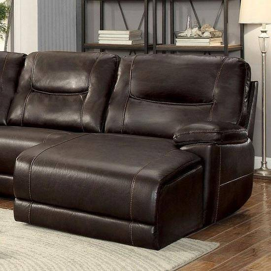 Dining Room Sets Columbus Ohio: Homelegance 8490 Columbus Brown Leather Match Reclining
