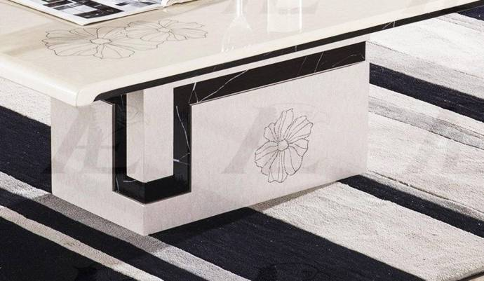 American Eagle Furniture CT-H36 White Marble Top Coffe