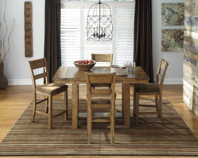 Cheers To The Krinden Dining Room Extension Table For Nailing Stylish Art Of Farmhouse Inspired Design Its Rustic Look And Heavy