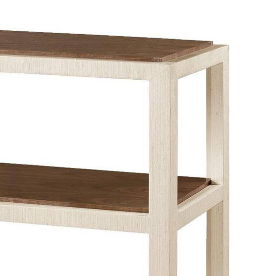 Phenomenal Bungalow 5 Clairmont Contemporary Lacquered Grasscloth And Veneers Console Table Ocoug Best Dining Table And Chair Ideas Images Ocougorg