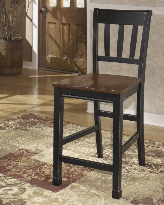 buy dining room set clarity photographs | Ashley Owingsville D580 Dining Room Set 10pcs in Black ...
