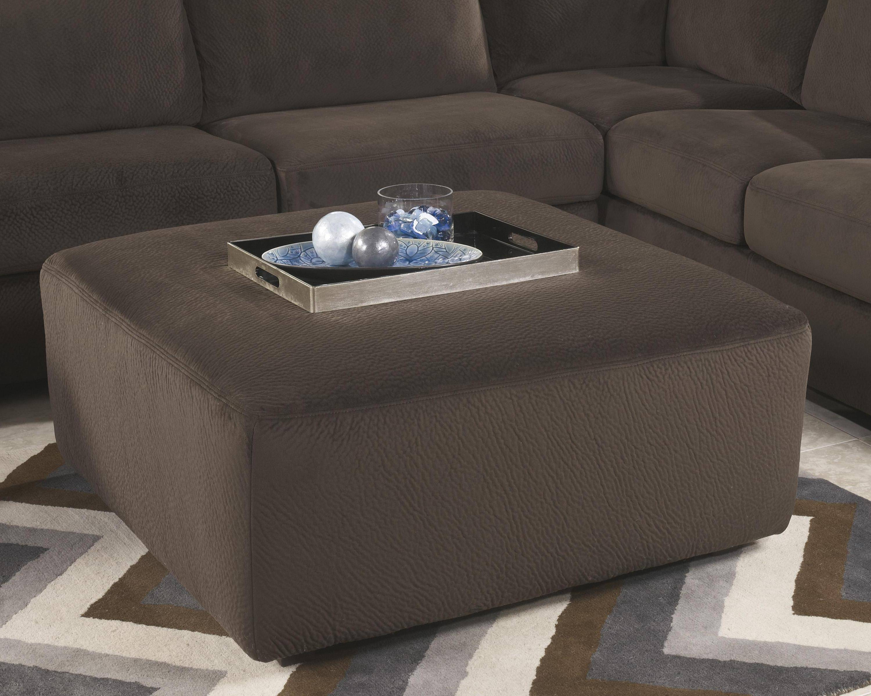 Astonishing Living Room Sectional 4Pcs In Chocolate Left Facing Ashley Alphanode Cool Chair Designs And Ideas Alphanodeonline