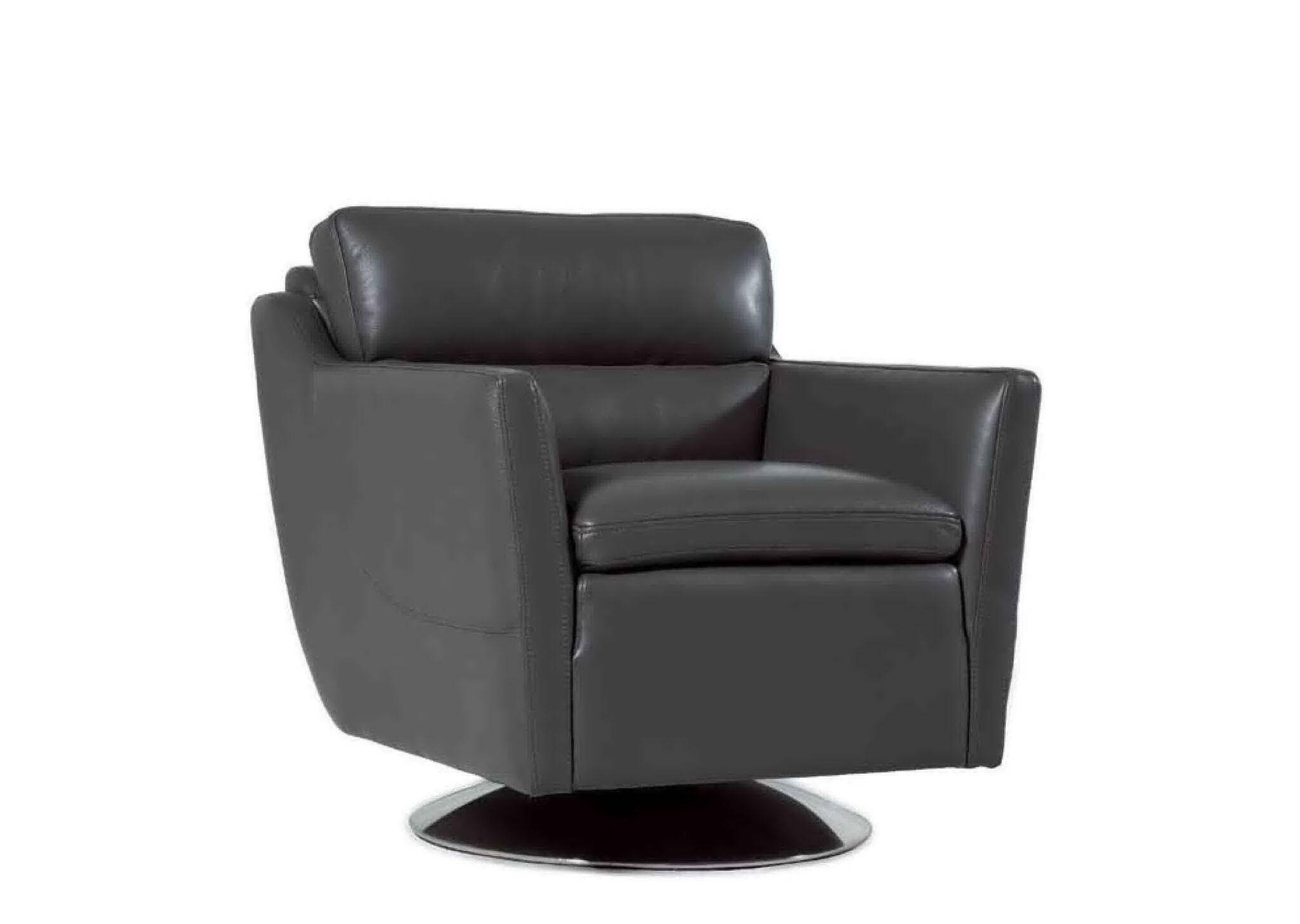 Tremendous Moroni Clio 528 Cool Grey Top Grain Leather Upholstery Mid Ncnpc Chair Design For Home Ncnpcorg