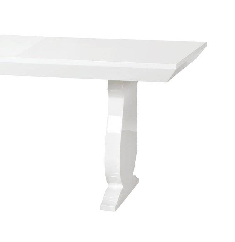Bungalow 5 Porto Contemporary White Lacquered Wood Large
