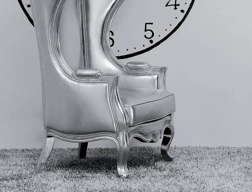Miraculous Acme 59116 Jana Silver Pu Wood Wing Back Hooded Accent Chair Ibusinesslaw Wood Chair Design Ideas Ibusinesslaworg