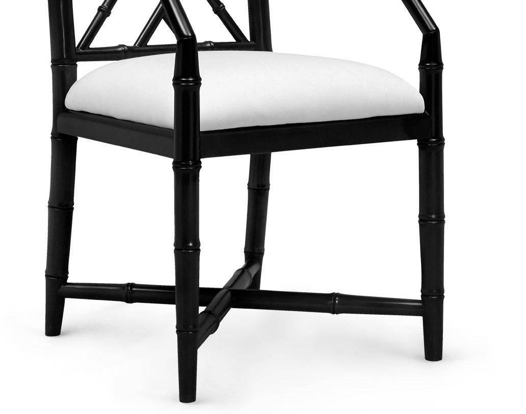 Wondrous Bungalow 5 Jardin Traditional Black Lacquered Mahogany Gmtry Best Dining Table And Chair Ideas Images Gmtryco