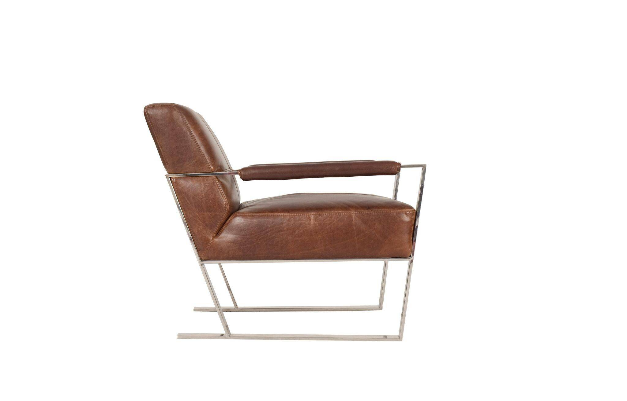 Pleasant Moroni Uno 537 Cognac Top Grain Leather Upholstery Ibusinesslaw Wood Chair Design Ideas Ibusinesslaworg