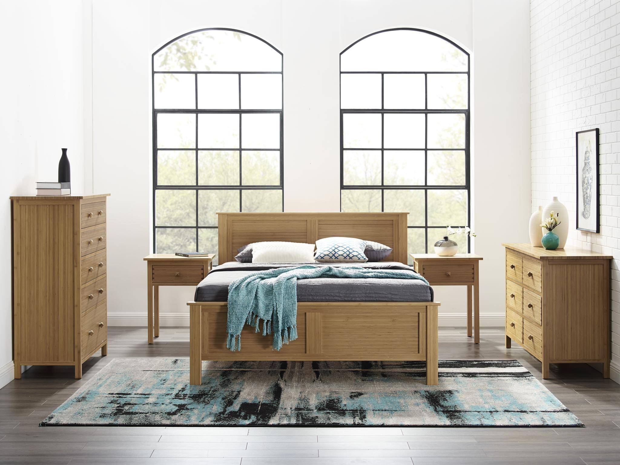 Picture of: Bamboo Cal King Platform Bed Caramelized Modern Hosta By Greenington Gb0601ck