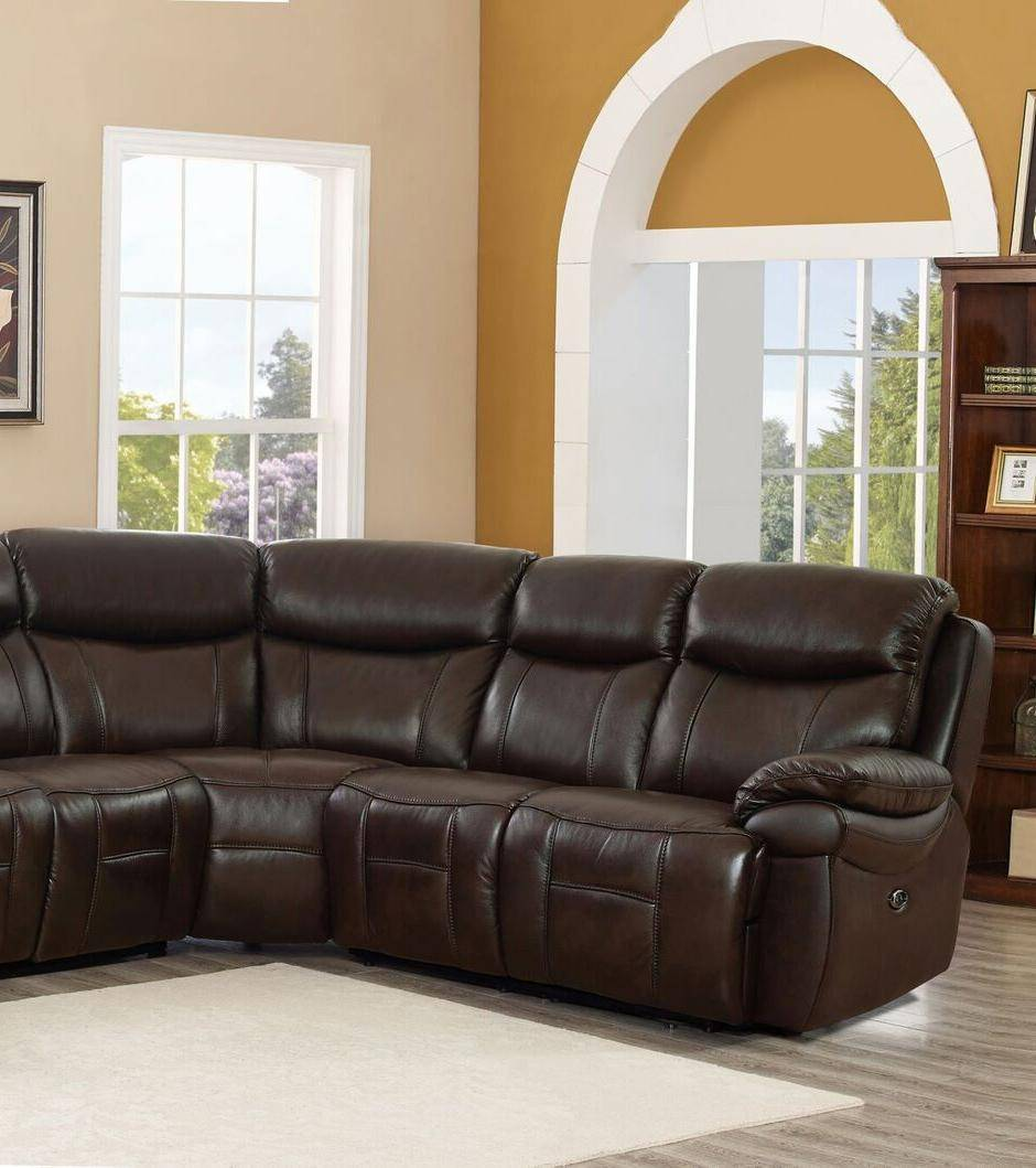 Outstanding Top Grain Leather Power Reclining Sectional Sofa Hydeline Fraser Amax Leather Unemploymentrelief Wooden Chair Designs For Living Room Unemploymentrelieforg