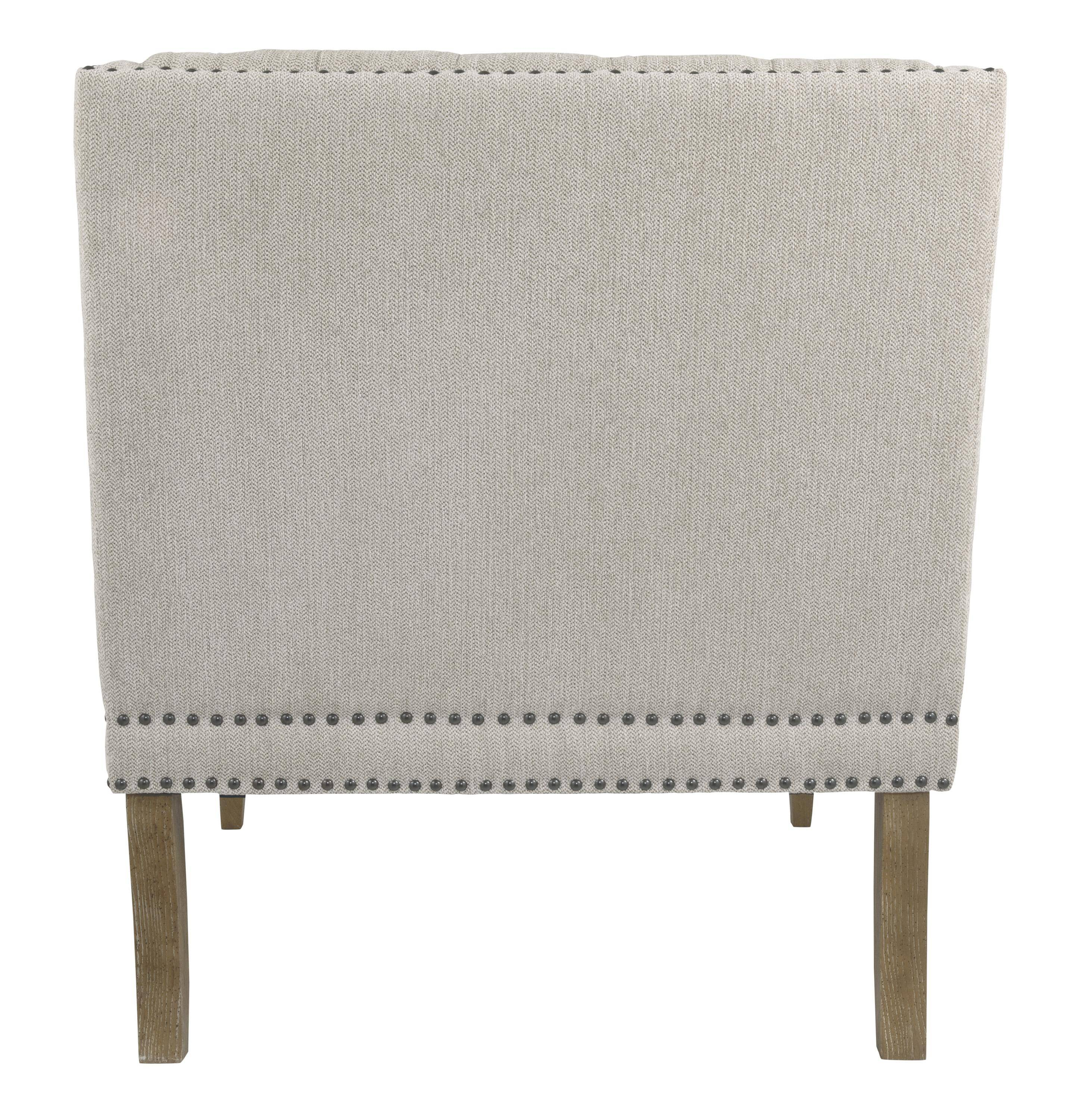 Ashley Trivia A3000039 Accent Chair In Bone Polyester