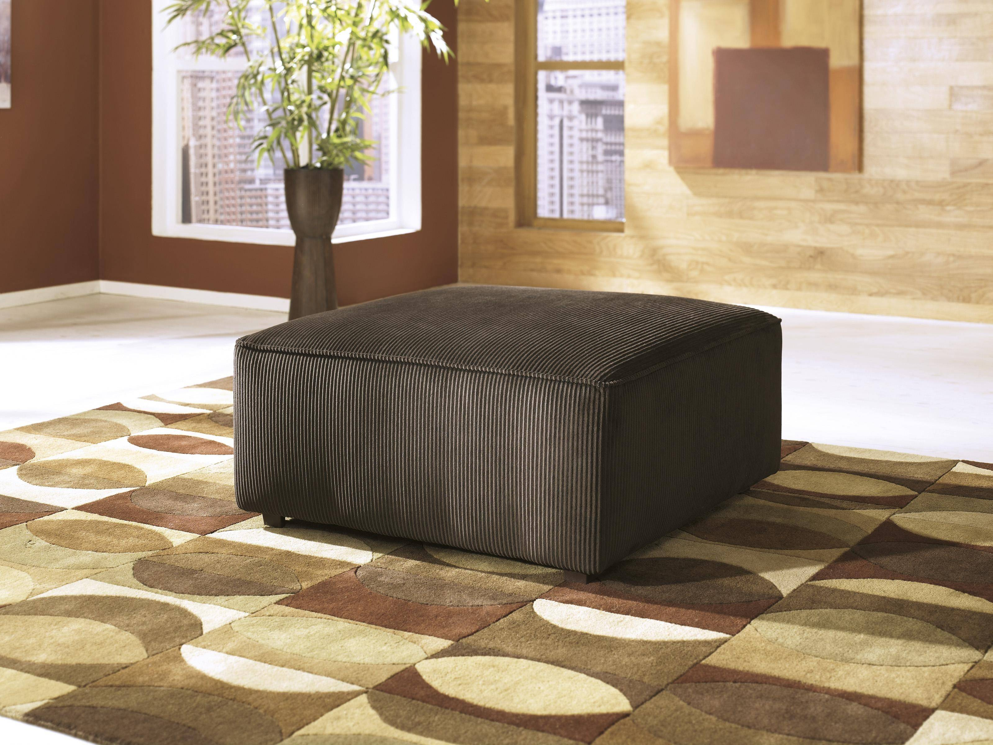 Ashley Vista 4 Piece Sectional in Chocolate Right Facing ...