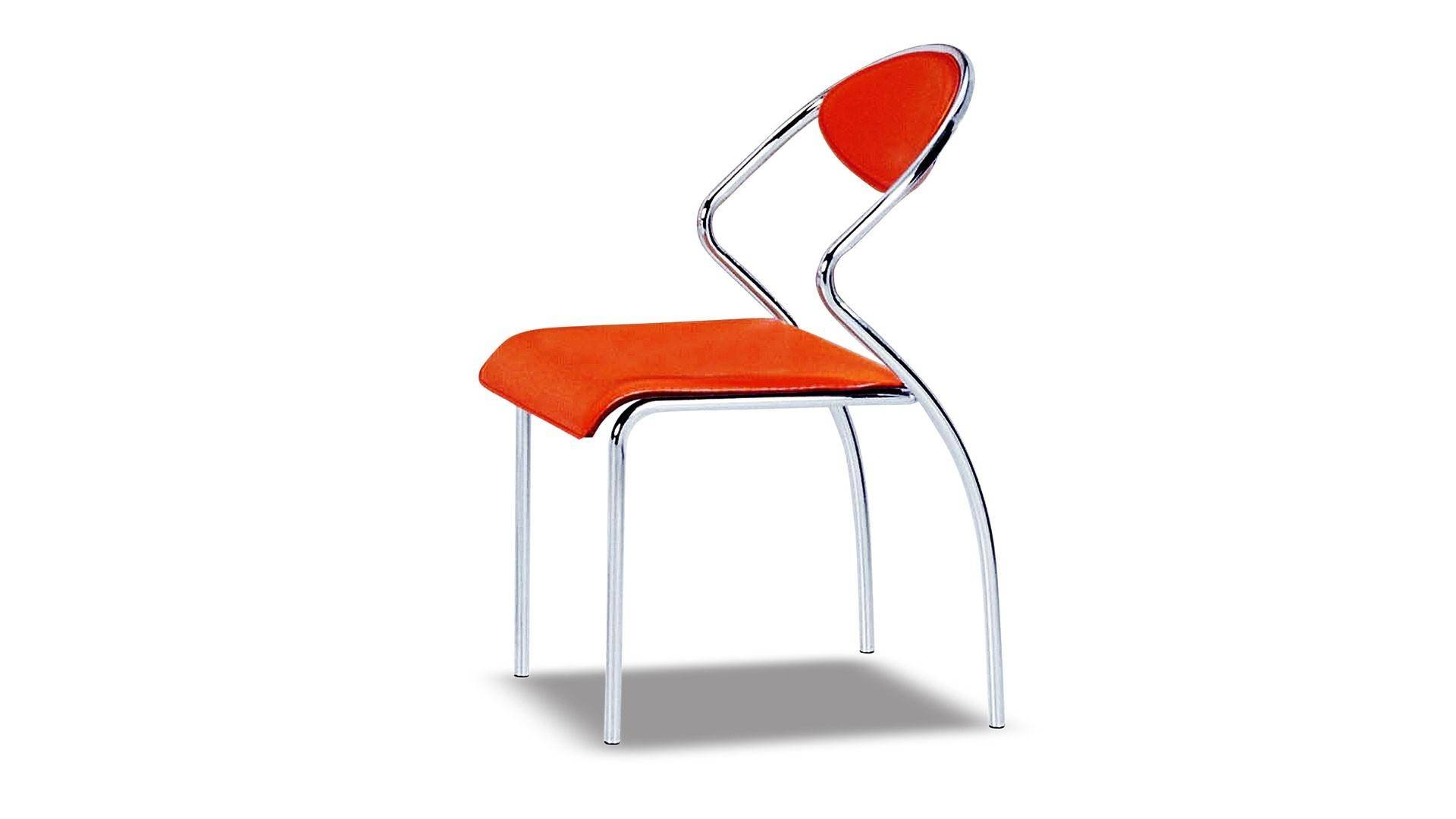 Phenomenal At Home Usa Fortunata Dining Chair 4Pcs Set In Orange Contemporary Style Camellatalisay Diy Chair Ideas Camellatalisaycom