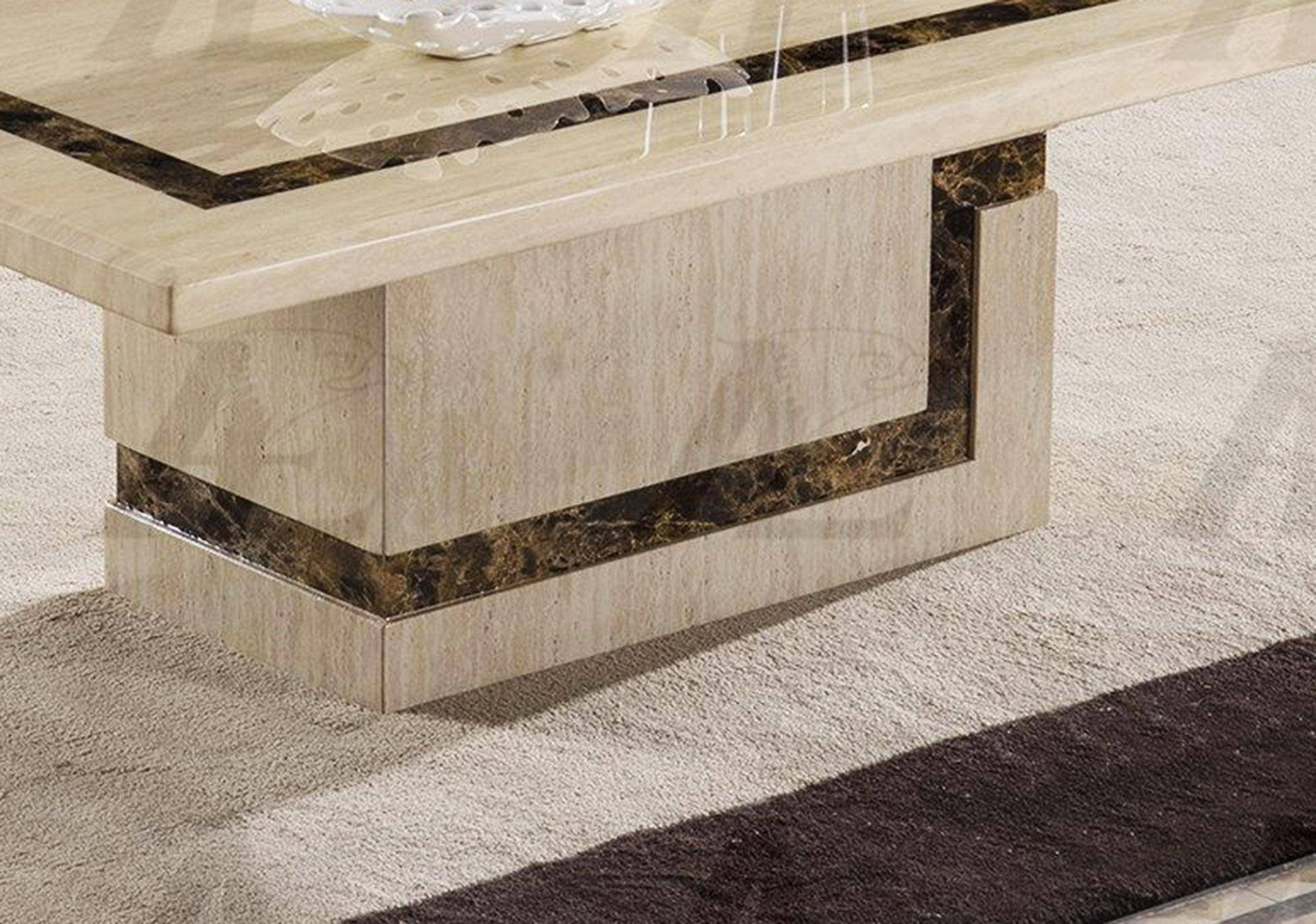 American Eagle Furniture CT-H308 Beige Marble Top Coffe