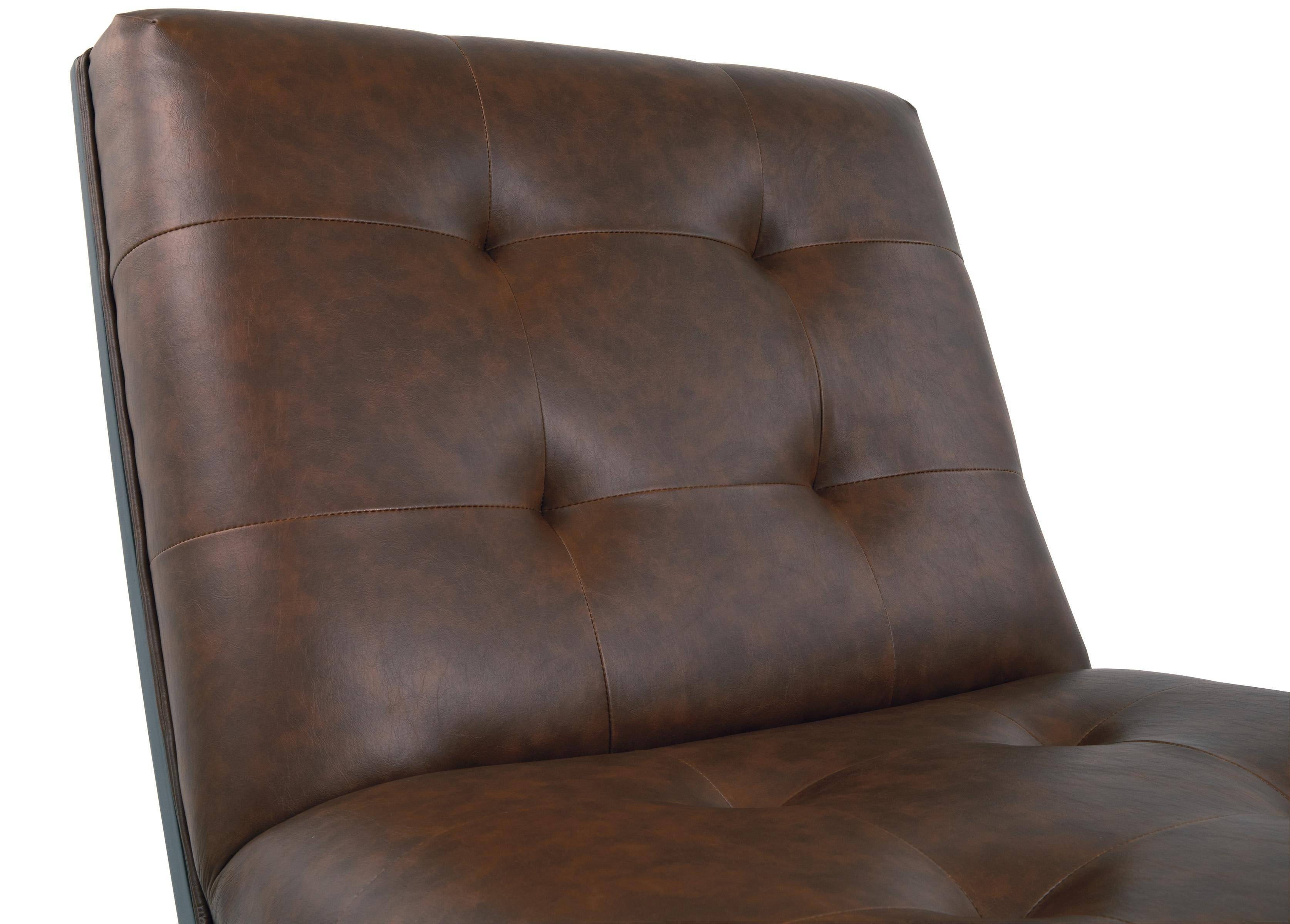 Pleasing Ashley Sidewinder A3000031 Accent Chair In Brown Faux Ocoug Best Dining Table And Chair Ideas Images Ocougorg