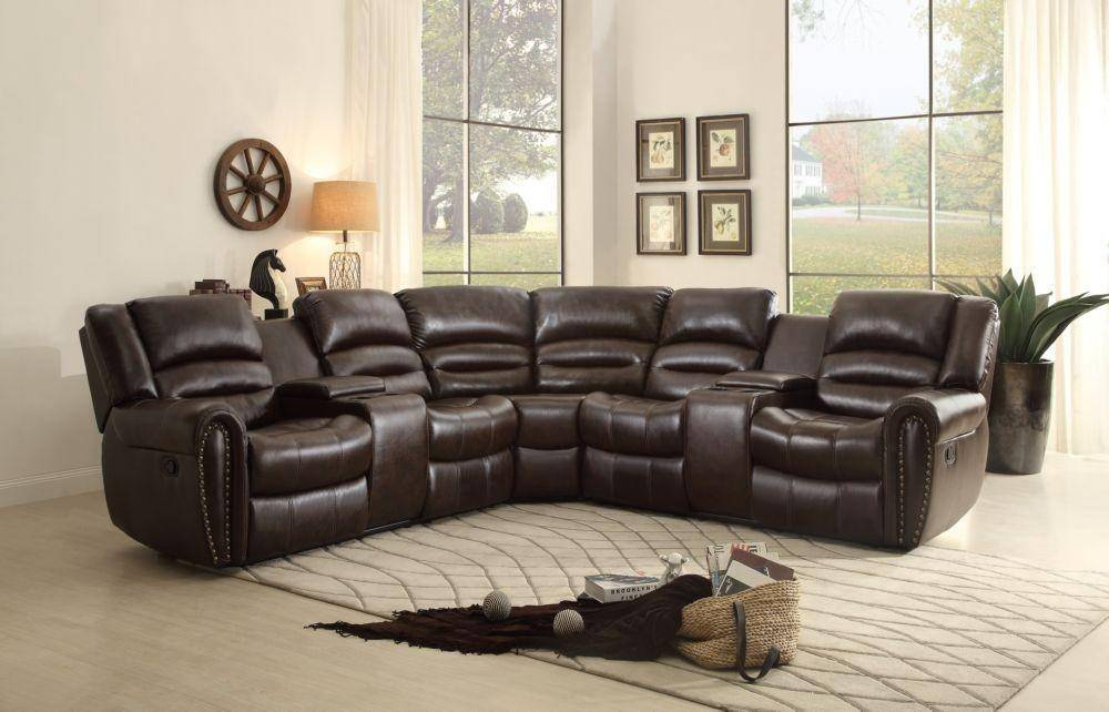 Outstanding Homelegance 8411 Palmyra Brown Bonded Leather Reclining Gamerscity Chair Design For Home Gamerscityorg