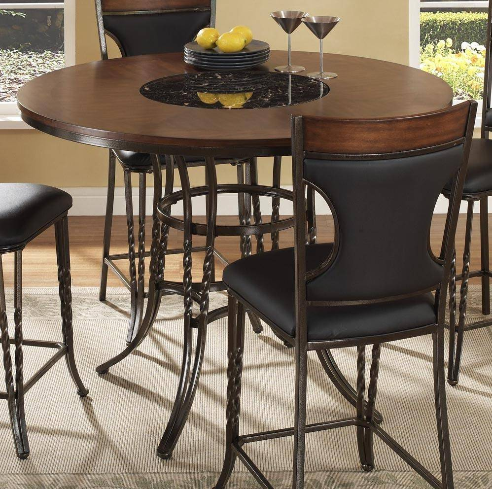 mcferran dynasty contemporary round table counter high dining room rh nyfurnitureoutlets com