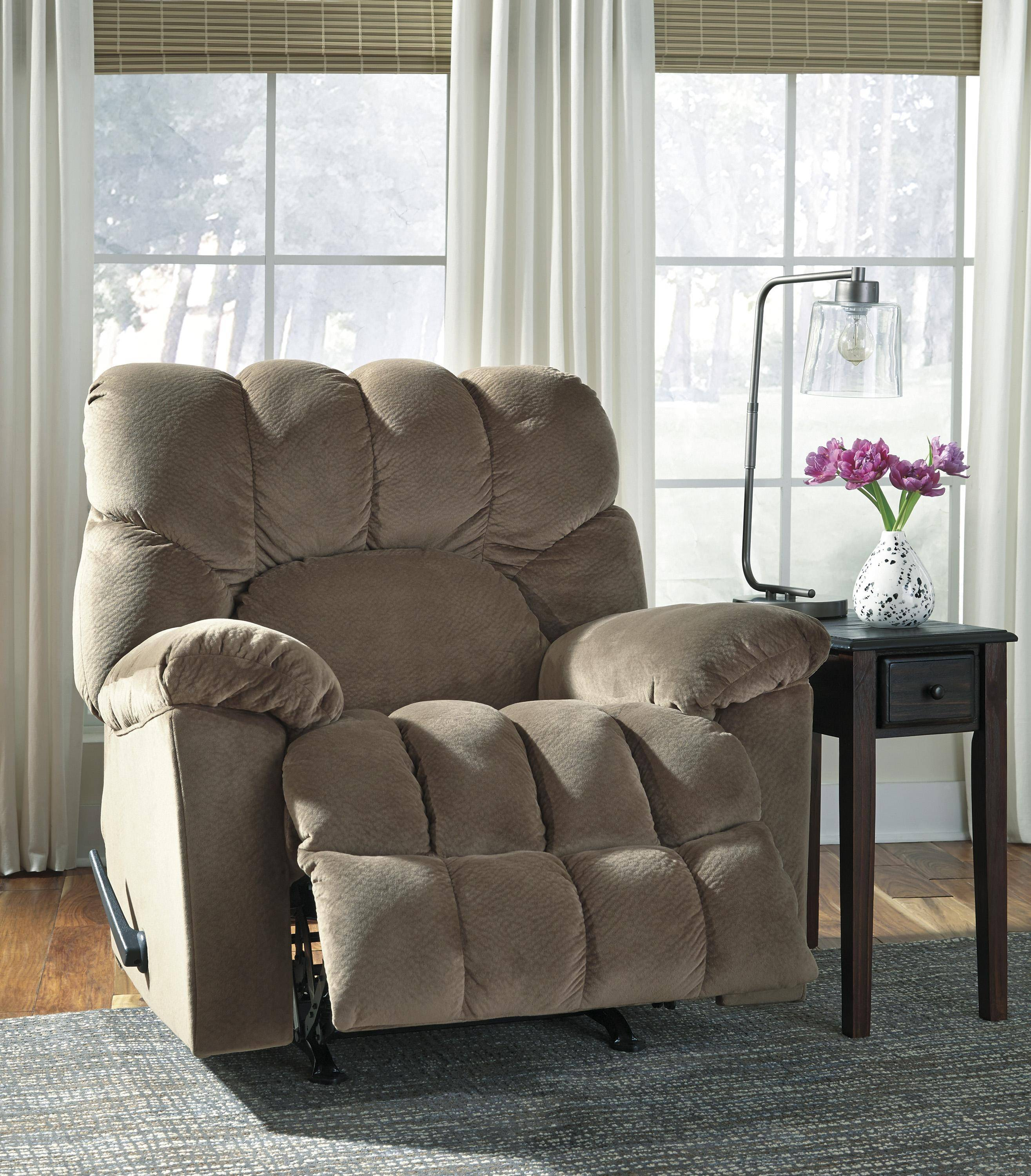 Ashley Dombay 58602 Rocker Recliner In Sable (5860225) Buy