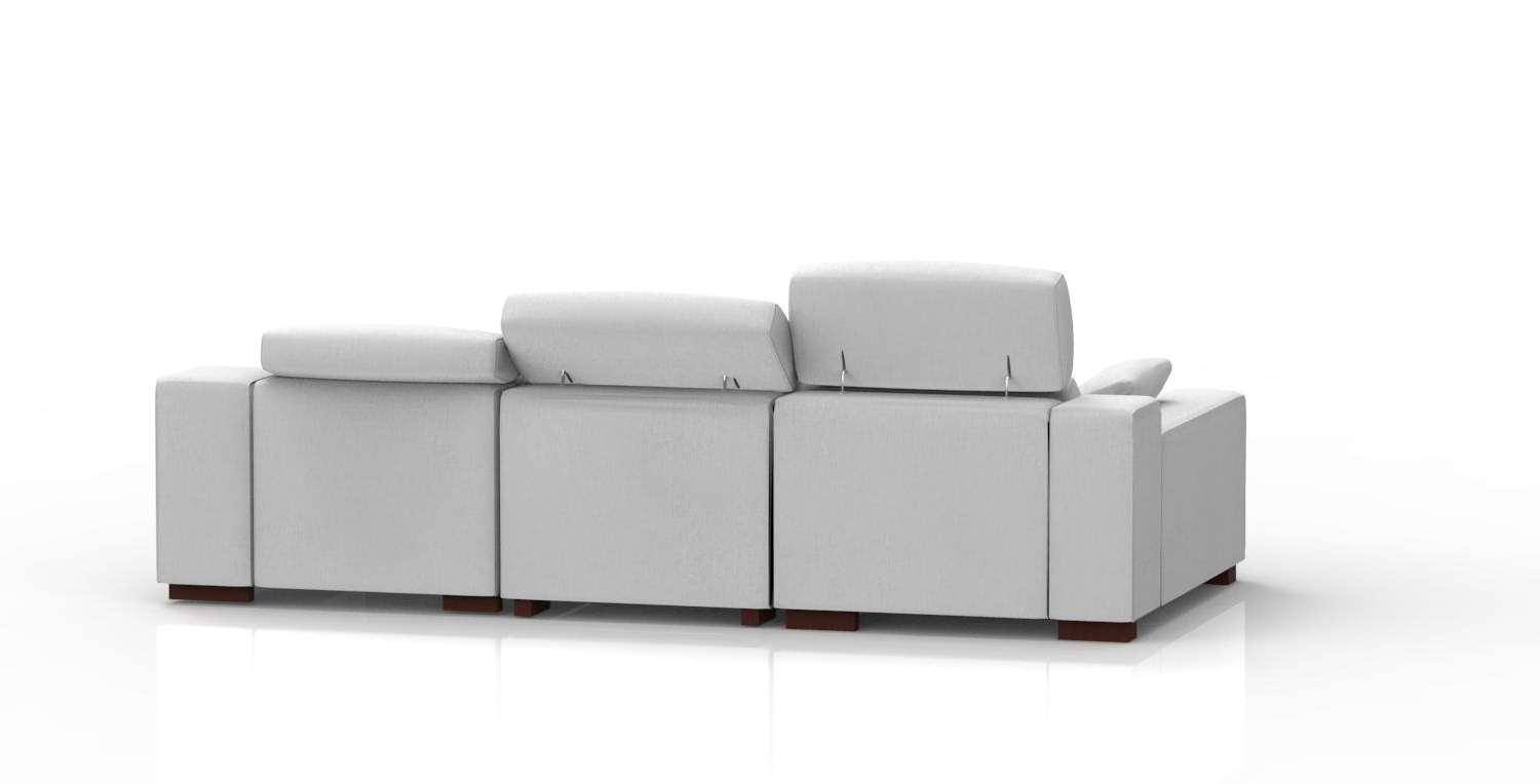 soflex lora modern modular sectional sofa with chase custom made in rh nyfurnitureoutlets com