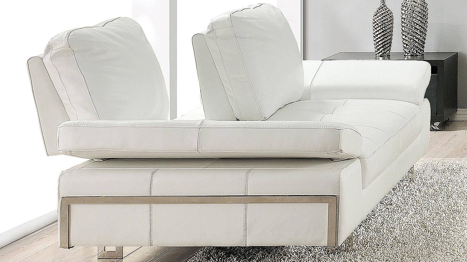 Italian Leather Ultra Modern Sofa Set