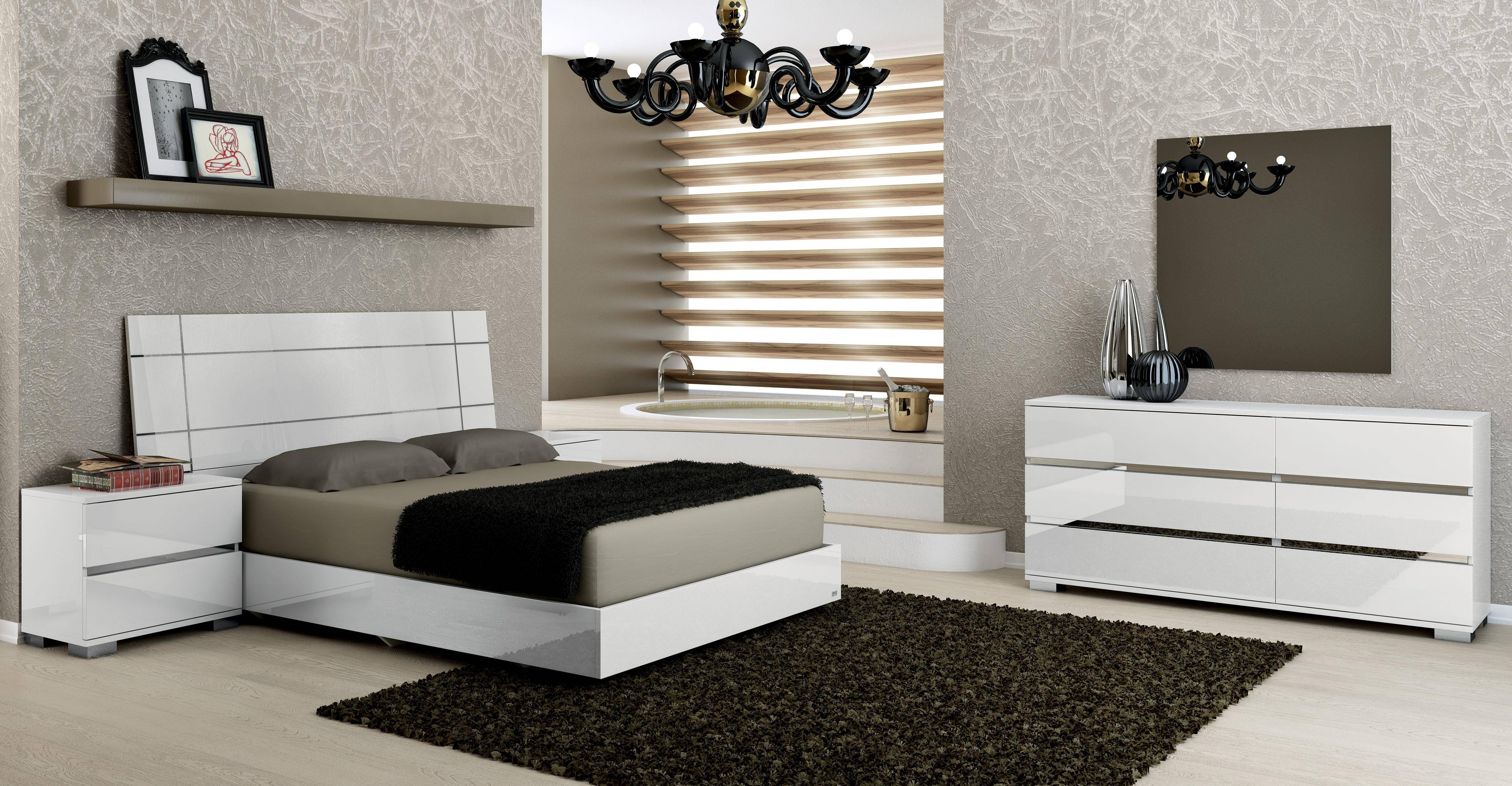 Super At Home Usa Dream White High Gloss Lacquer Queen Bedroom Set Bralicious Painted Fabric Chair Ideas Braliciousco