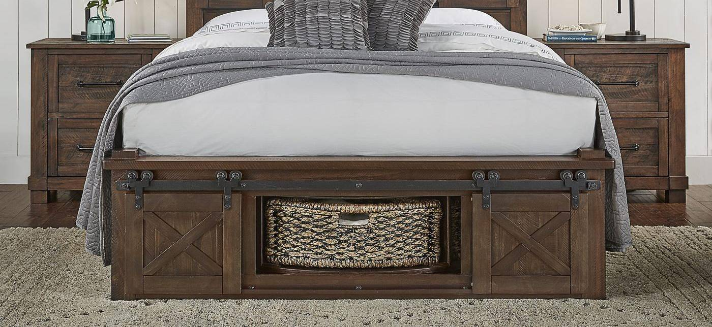 rustic queen rotating storage bed brown suvrt5092 a america sun rh nyfurnitureoutlets com