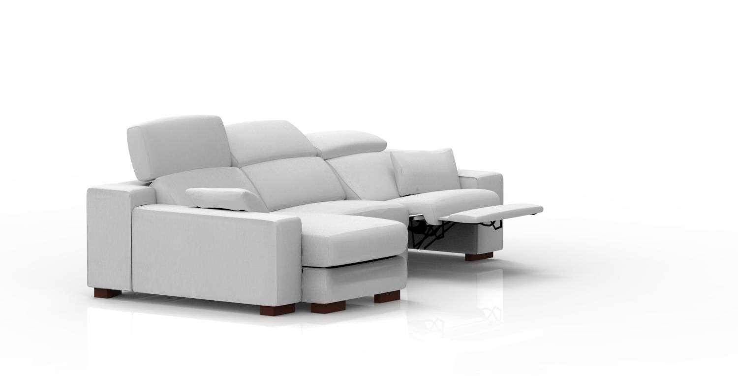 Soflex Lora Modern Modular Sectional Sofa with Chase Custom Made in ...