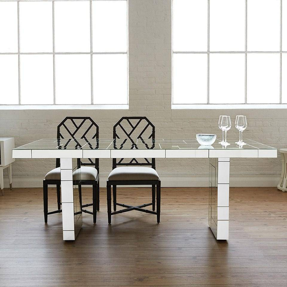 Admirable Bungalow 5 Jardin Traditional Black Lacquered Mahogany Side Gmtry Best Dining Table And Chair Ideas Images Gmtryco