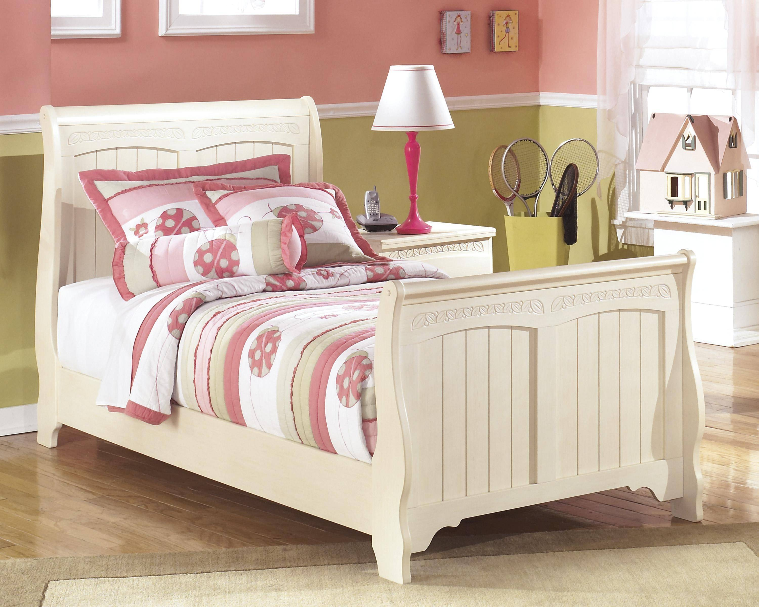 Ashley Cottage Retreat B213 Twin Size Sleigh Bedroom Set ...