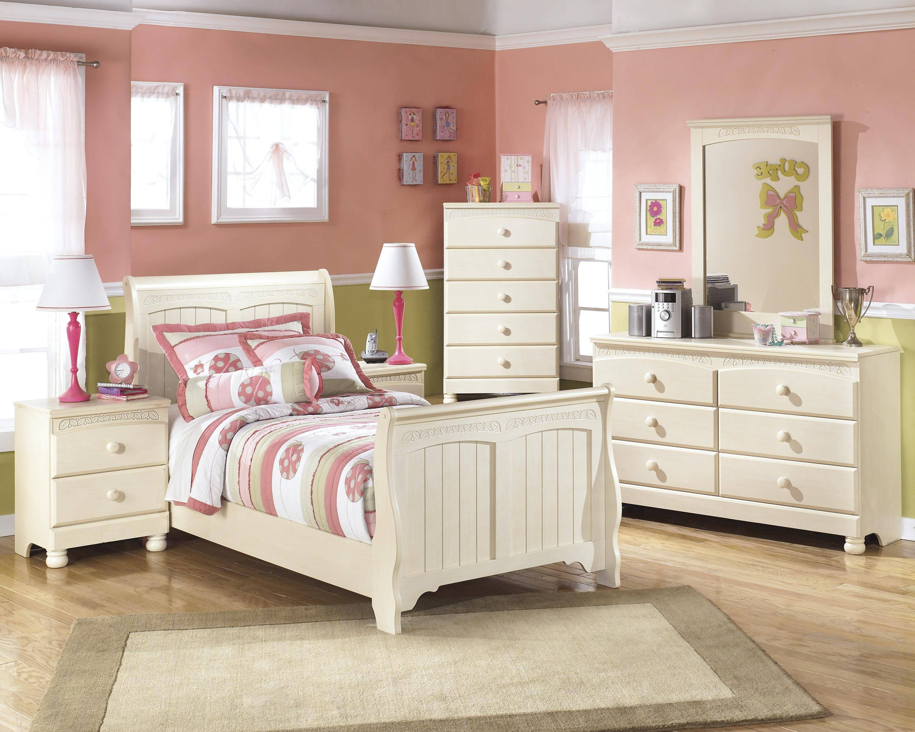 ashley cottage retreat b213 twin size sleigh bedroom set