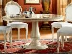Buy ESF Rossella Dining Comp 2 Ivory Dining Table Set 5Pcs w/ Extension Modern cheap online