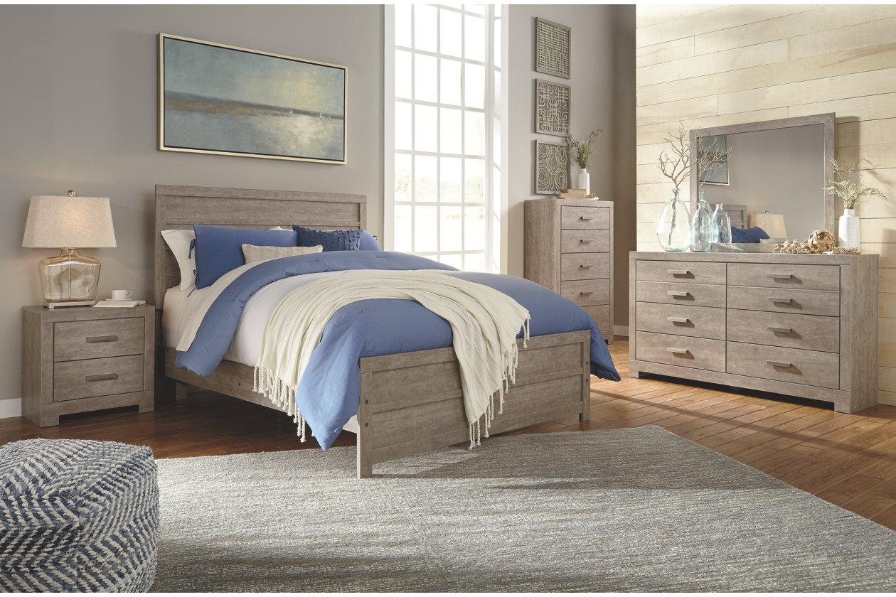 ashley culverbach b070 full size panel bedroom set 6pcs in