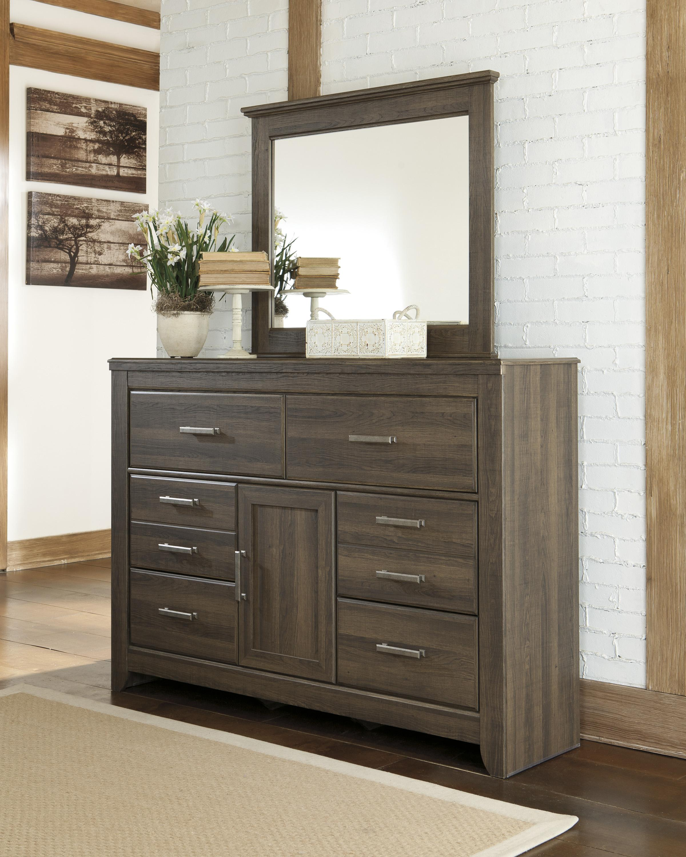 ashley juararo b251 king size panel bedroom set 6pcs in