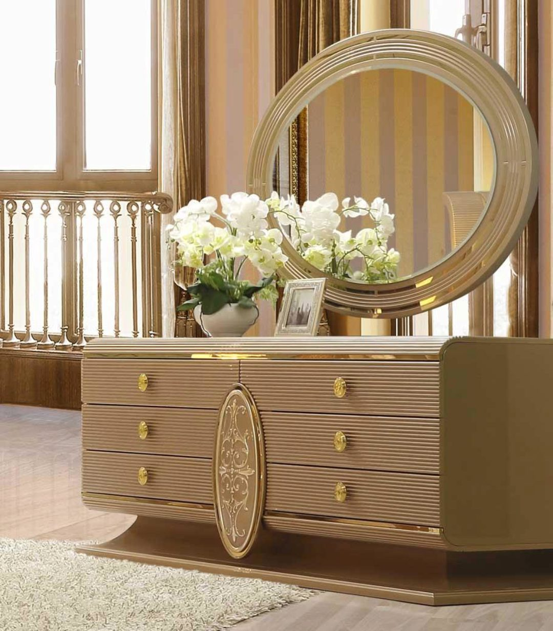 Belle Silver Finish Leather Cal King Bedroom Set 5pcs Contemporary Homey Design Hd 922 Hd 922 Bset5 Ck